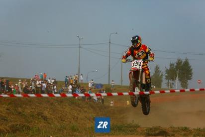Фоторепортаж с  чемпионата по мотокроссу в Чебоксарах