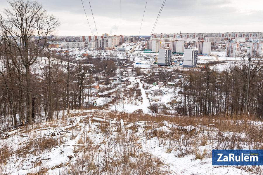Как будет выглядеть новая дорога из новоюжки в северо-западный за 10,5 млрд рублей (по версии мэрии)