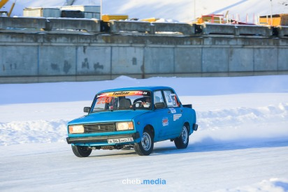 Фоторепортаж: Как в Чебоксарах прошли ледовые гонки «Волжский трек-2018»