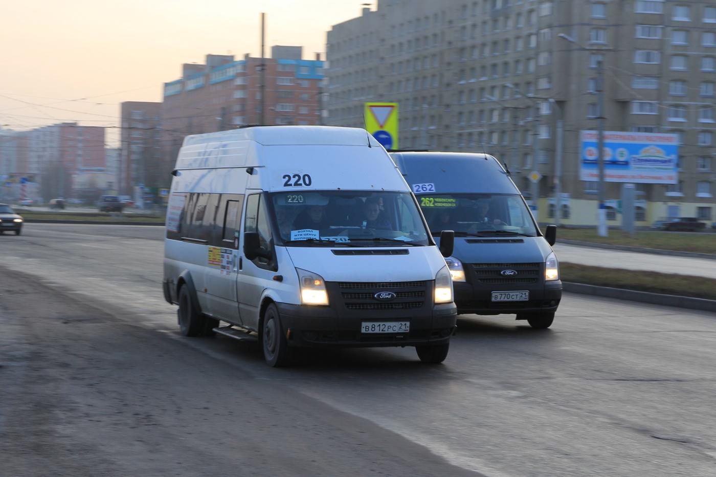 Минтранс и мэрия решают судьбу новочебоксарских маршруток
