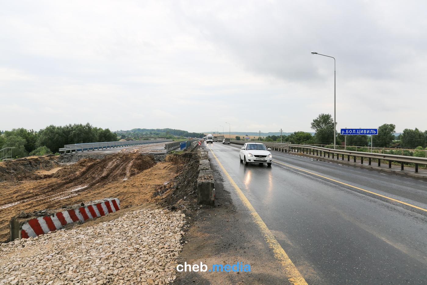 Новый подрядчик сделает подходы к цивильскому мосту до октября. Наверное