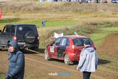 Фоторепортаж: Как прошел автокросс в Чиршкасах