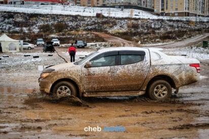 Снег, грязь, рёв мотора – как прошел внедорожный тест-драйв Mitsubishi