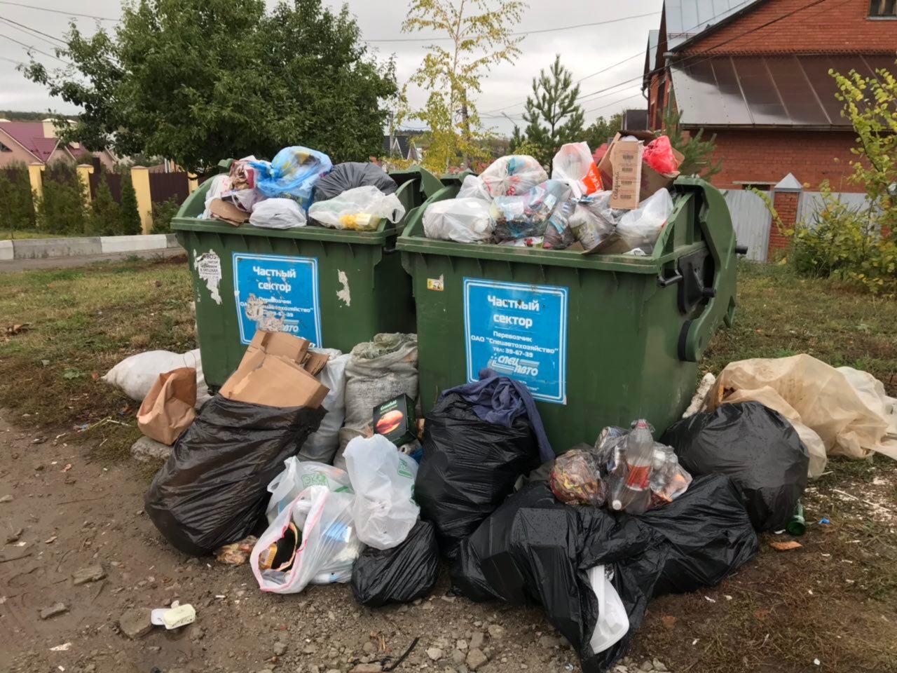 «Спецавтохозяйство» возобновило сбор мусора после двухдневной паузы. Что дальше?