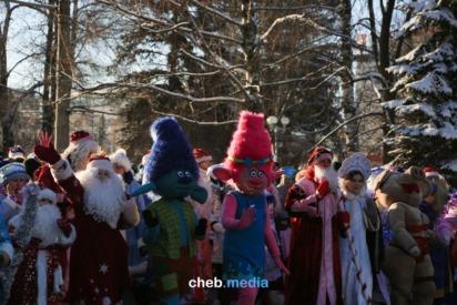 """Фоторепортаж: Как прошел новогодний карнавал """"Всенашестие-2018"""""""