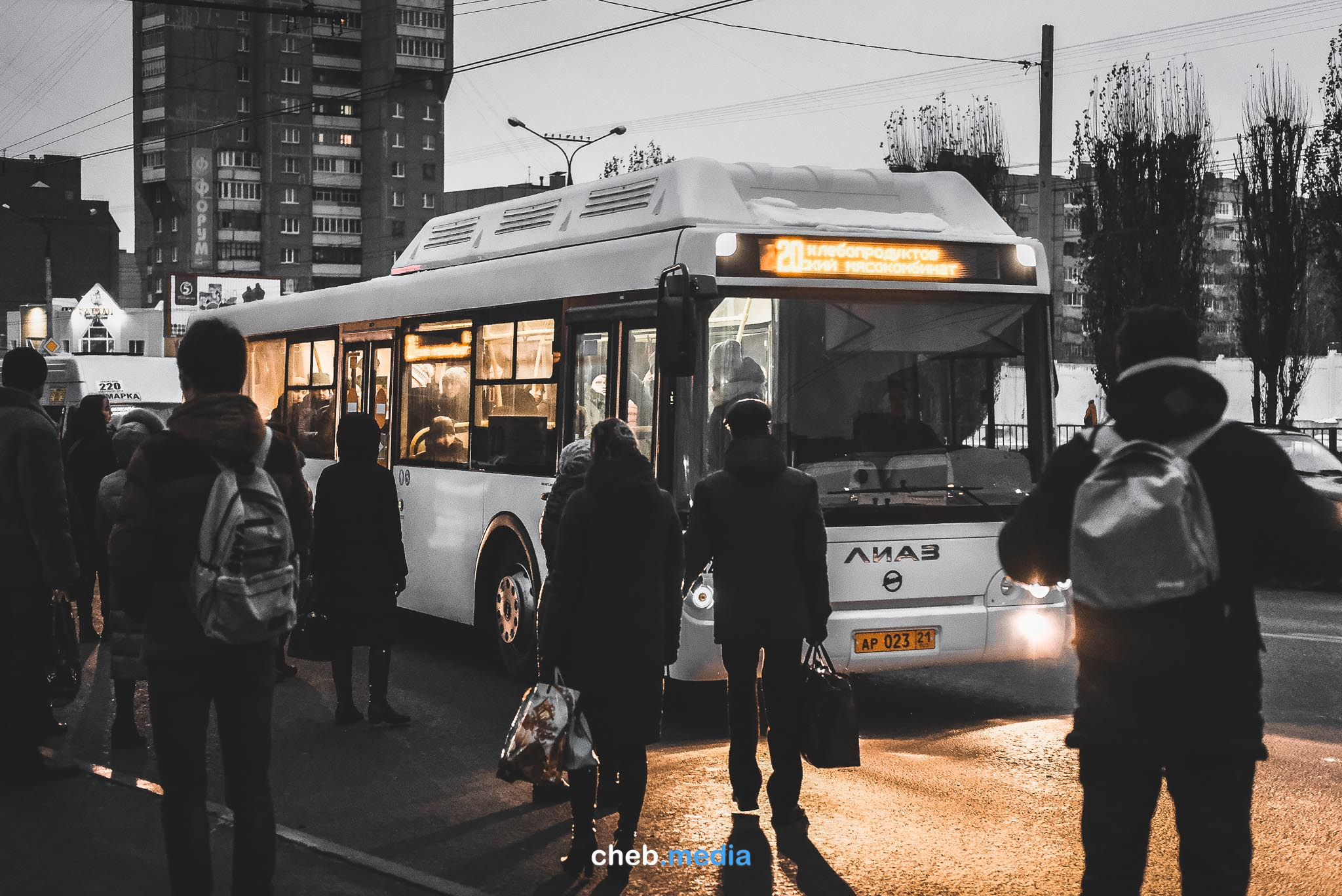 Большие автобусы ЛиАЗы окончательно пропали с чебоксарских дорог