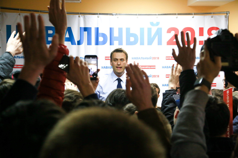 Алексей Навальный в Чебоксарах